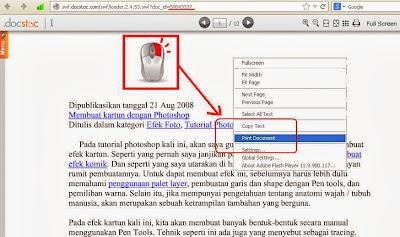 langkah 6 cara download ebook di docstoc