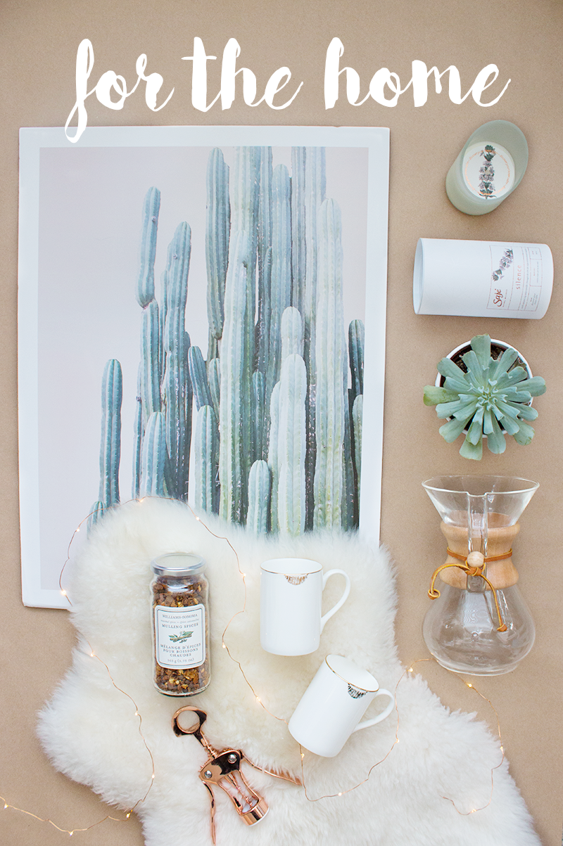 Holiday gift ideas for the home via Adventures in Fashion