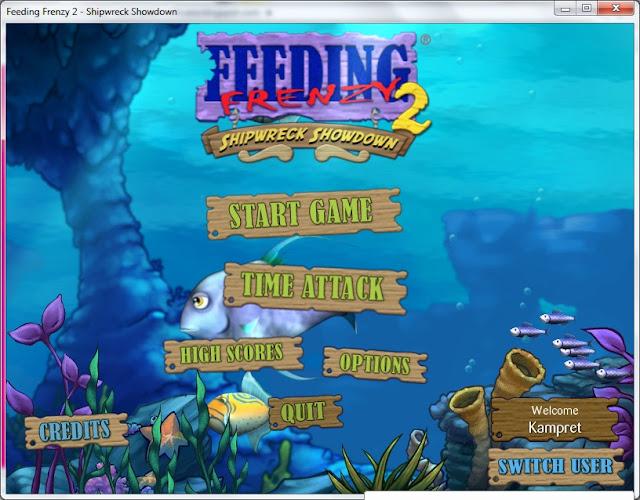 Download Game Feeding Frenzy - Shipwreck Showdown Terbaru 2012