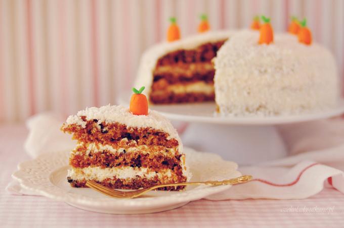 tort, marchewkowy, najlepszy, przepis na, imprezę, urodziny, krem, mascarpone
