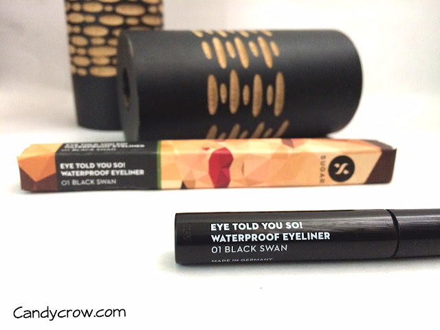 Sugar Eye Told You So! Waterproof Eyeliner Review