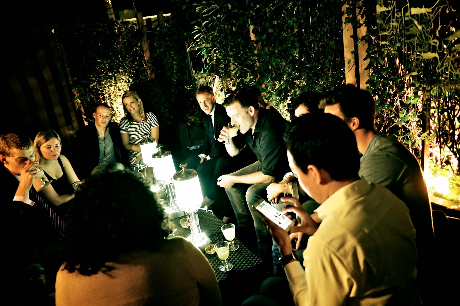 Pernod Ricard Abinsthe tasting at L'Atelier Joel Robuchon