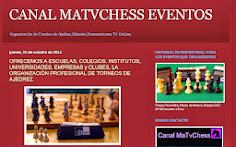 Organización de Torneos de Ajedrez, con transmisión Online.
