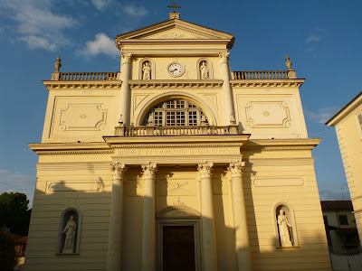 Scenes Around Villanova Mondovì: A Cappella, Lime Trees, Main Church