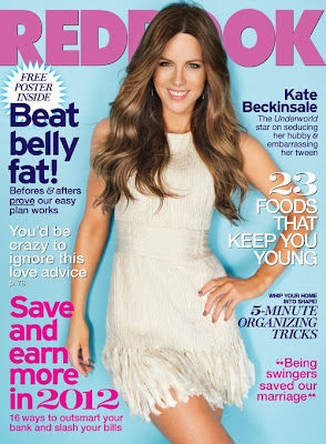 Kate Beckinsale- RedBook Photoshoot