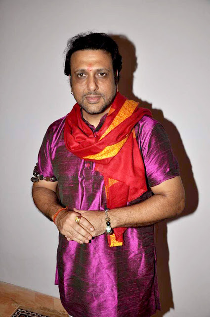 Govinda Celebrates Ganesh Festival Photos
