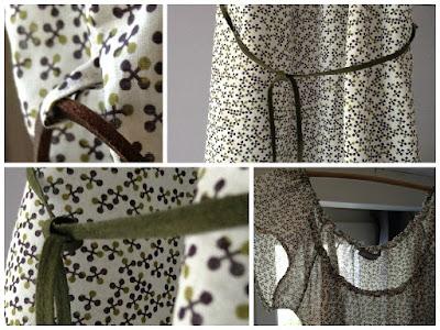 Robe légère en voile de coton
