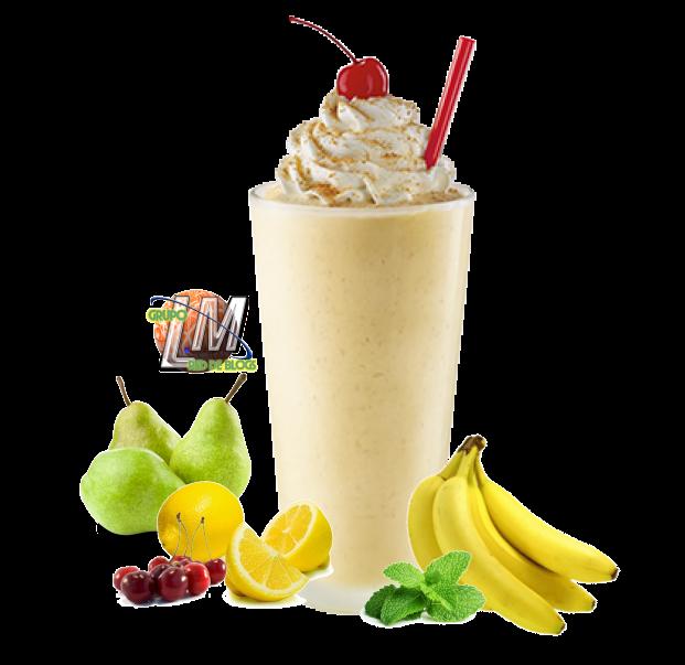 Batido de pera y plátano