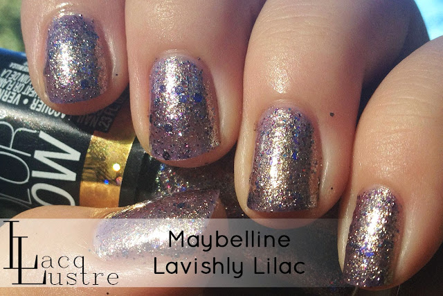 Maybelline Lavishly Lilac swatch