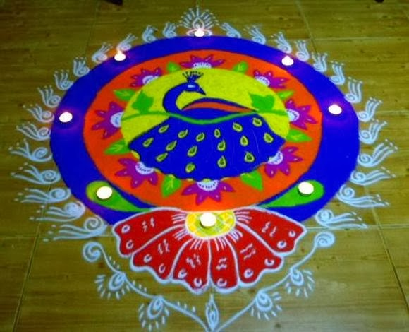 Rangoli designs world top blogger for Home rangoli designs