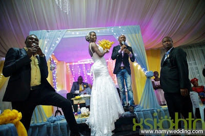 Pictures From Obiwon's Church Wedding & Reception. 35