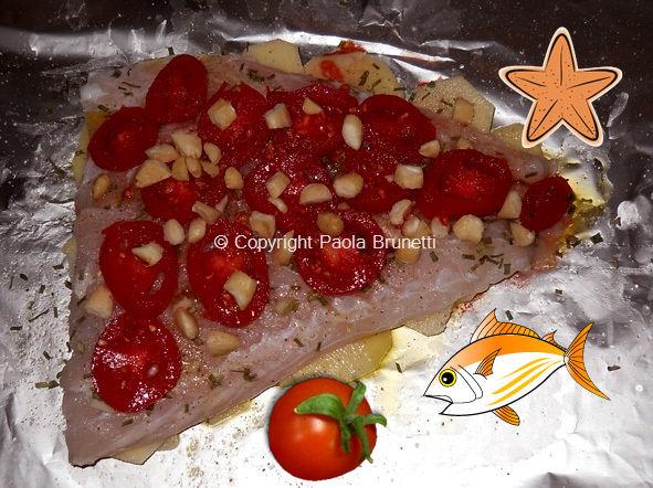 La cucina di paola brunetti pesce persico al cartoccio - Cucinare pesce persico ...