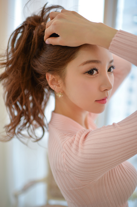 Park Sooyeon Pink Top