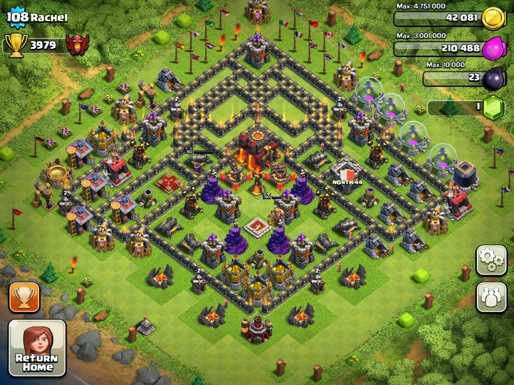 Clash of Clans Town