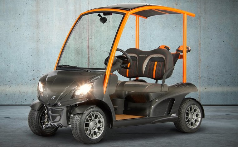 Bentley Golf Cart Price Electric >> GARIA MANSORY Edition - the highest end of Luxury golf carts