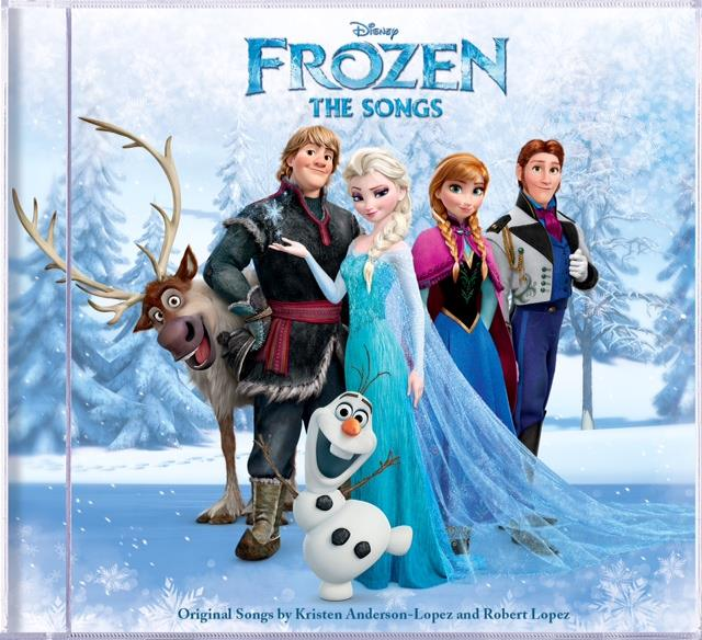 Frozen: The Songs CD, plus three additional titles. On September 30th