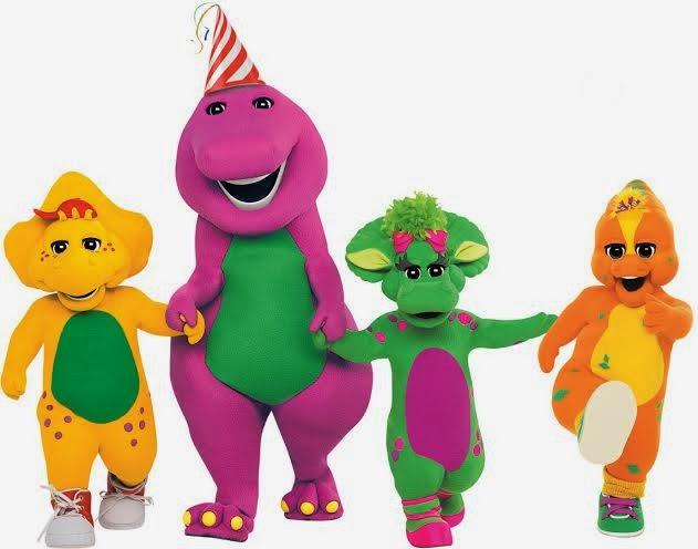 MINNESOTA BABY Barney Debuts In Singapore - Barney live in concert birthday