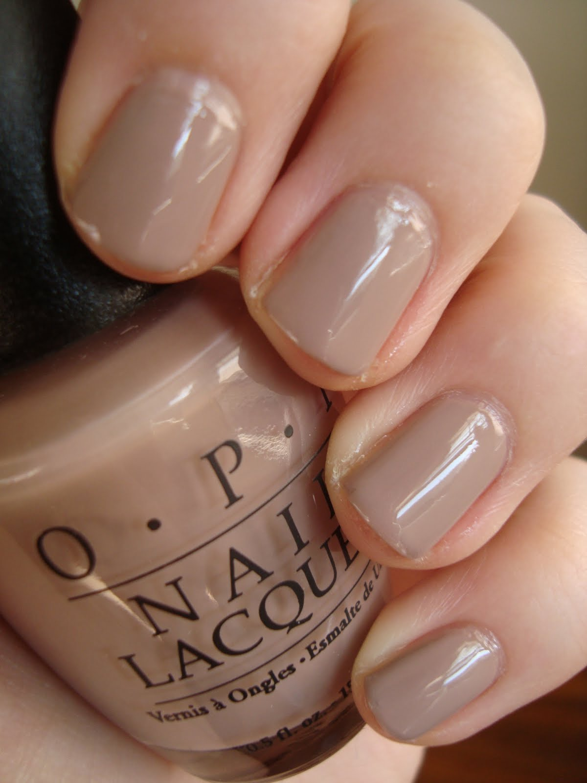 Short 39 n chic black label opi tinsel town taupe for What does taupe mean