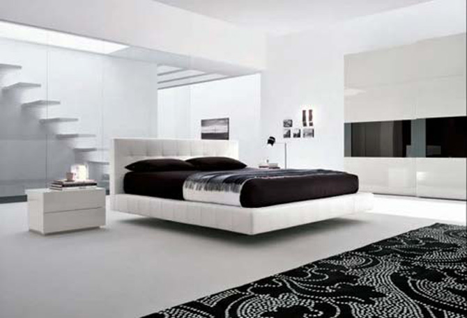 Interior design minimalist dreams house furniture for Bed minimalist design