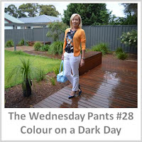 Sydney Fashion Hunter - The Wednesday Pants #28 - Colour On A Dark Day