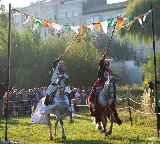 imagen_burgos_cid_medieval_cidiano_torneo_caballeros_rio_arlanzon
