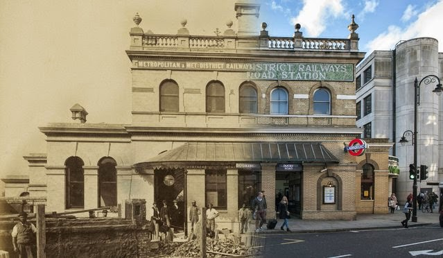 Step Into The Past London Then And Now By Streetmuseum