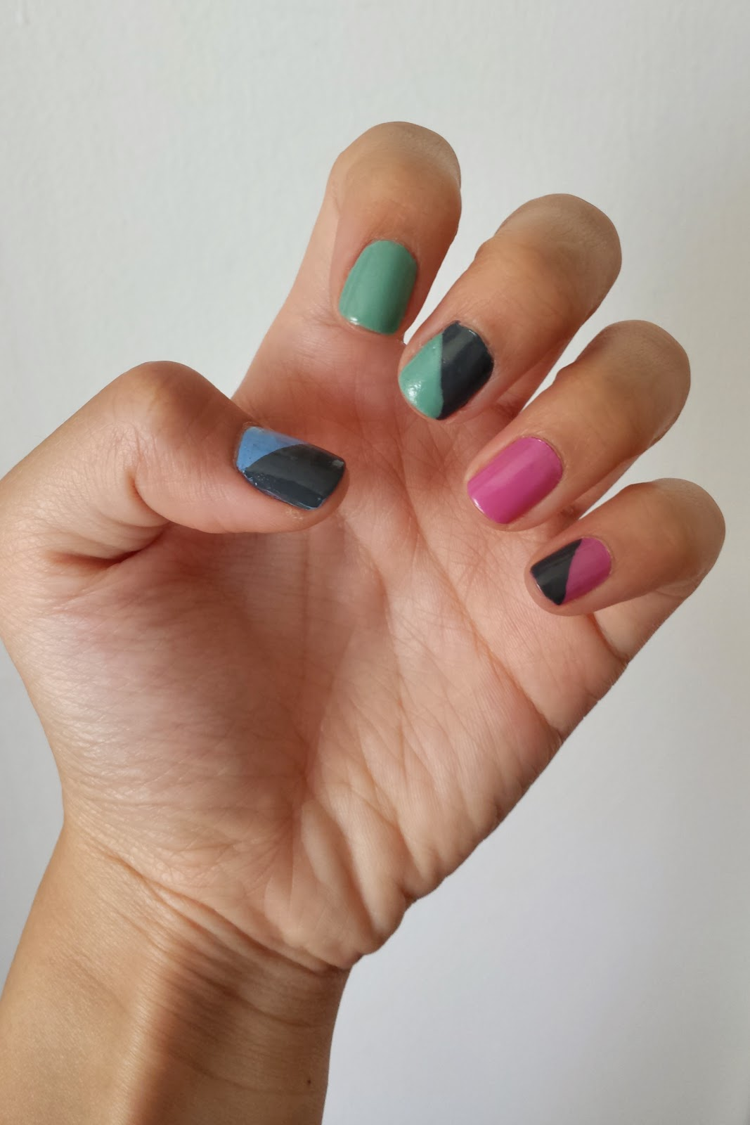 pastel spring nails