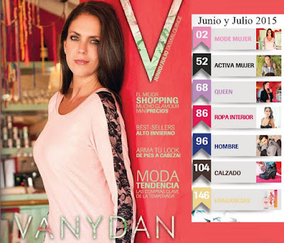 Catalogo Vanydan Junio Julio 2015