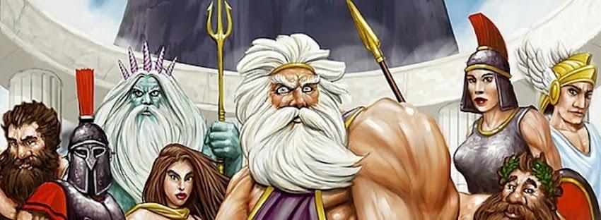 Les dieux de la mythologie grec