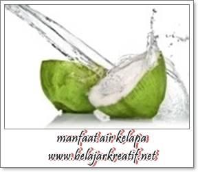 gambar keajaiban manfaat air kelapa untuk kesehatan dan perawatan kecantikan tubuh