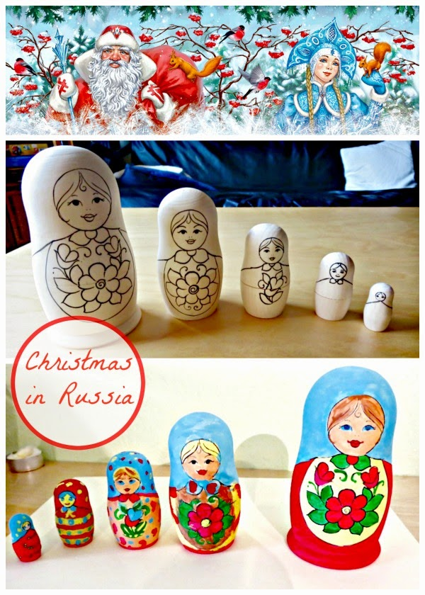 Christmas in Russia: Traditions, a book, and a craft