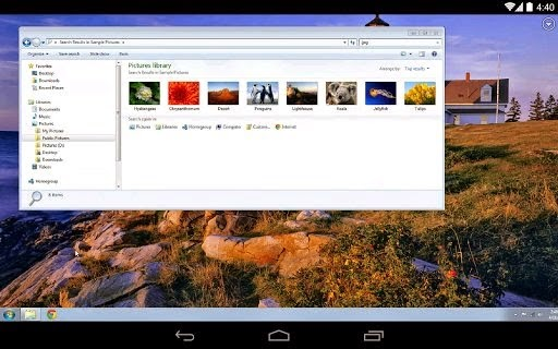 Chrome Remote Desktop 35 apk