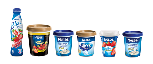 Nestle Bliss products