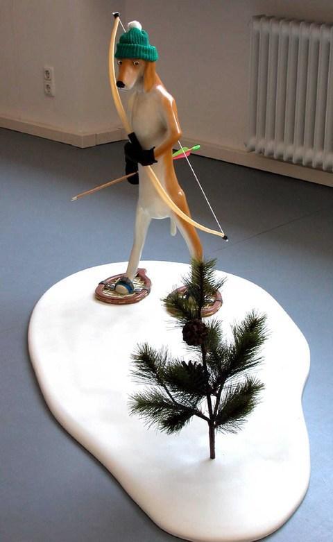 fredrik raddum esculturas surreal nonsense