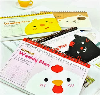 school planners and schedulers at CoolPencilCase.com