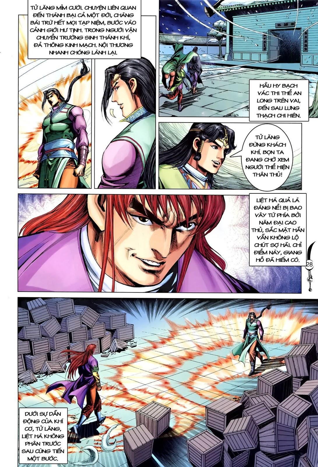 Đại Đường Song Long Truyện chap 218 - Trang 30