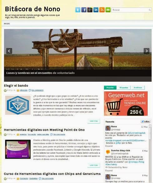 Blog de Nono 2012 - 2014