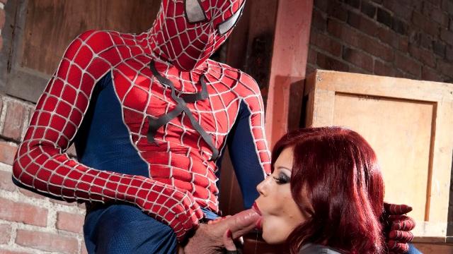 человек паук секс фото