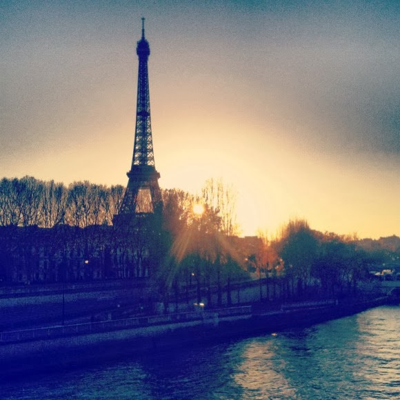 Tour Eiffel from the Pont d'Alma