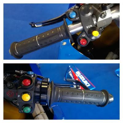 Yuk Intip Kecanggihan Stang Motor GSX-Ecstar RR Suzuki MotoGP