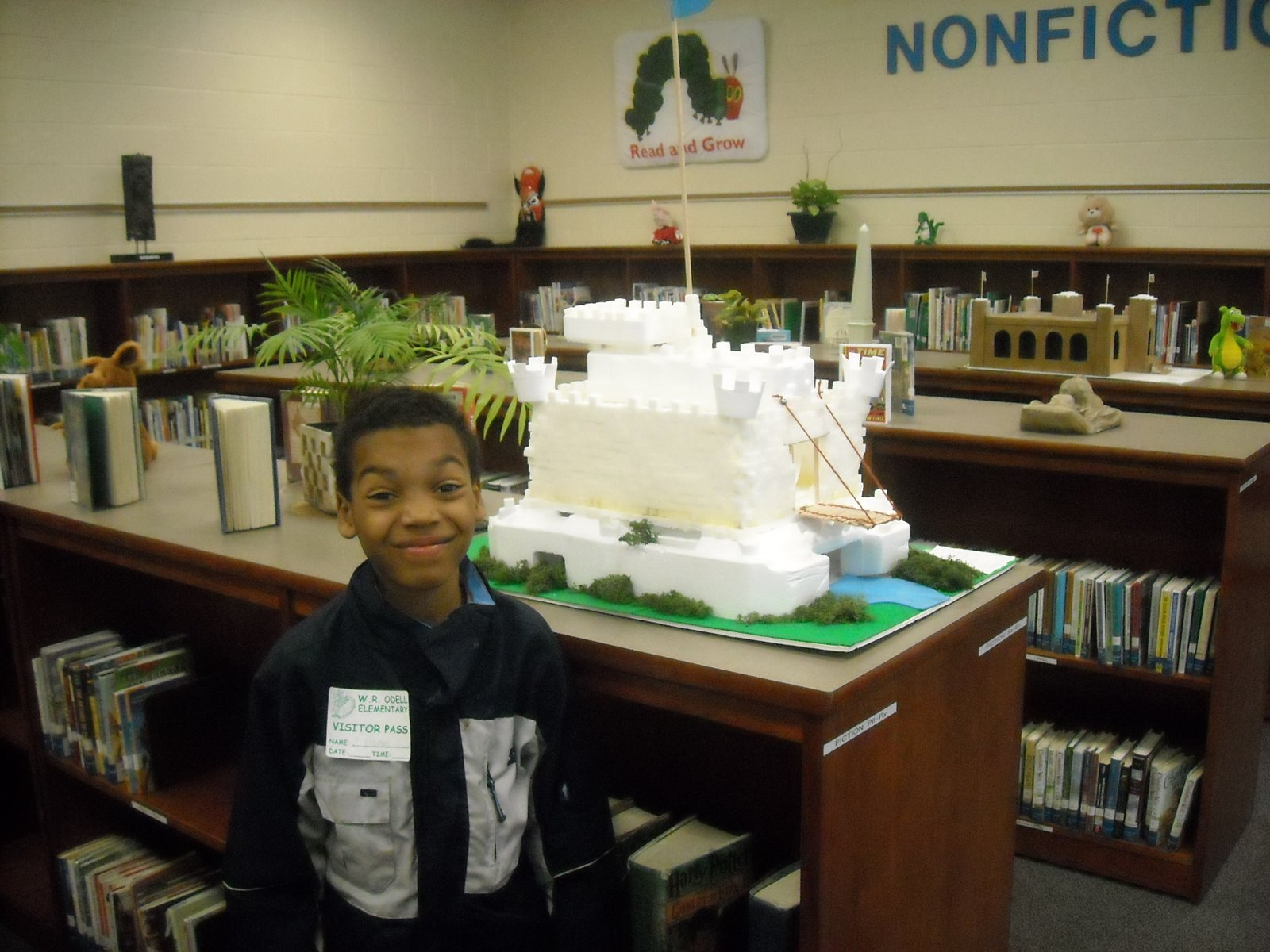 Ethan's Sugar cube castle 4th grade