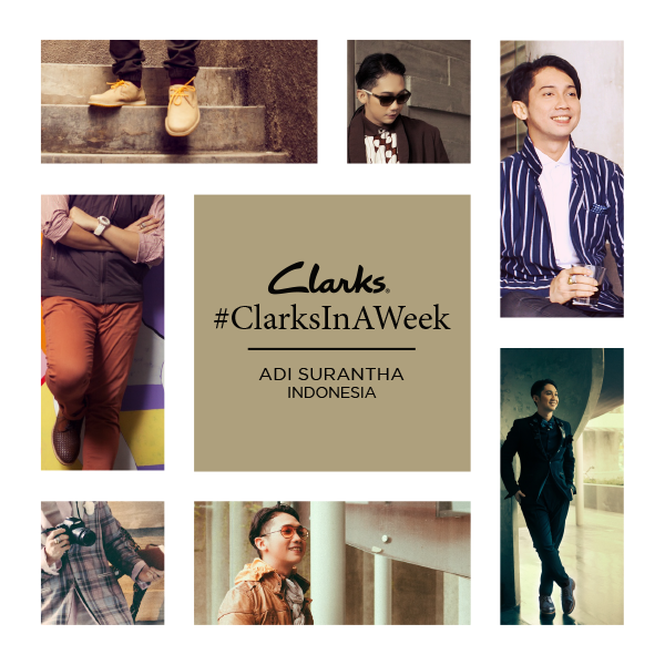 ADI SURANTHA FOR CLARKS SHOES