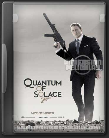 007 Quantum Of Solace (DVDRip Inglés Subtitulado) (2008)