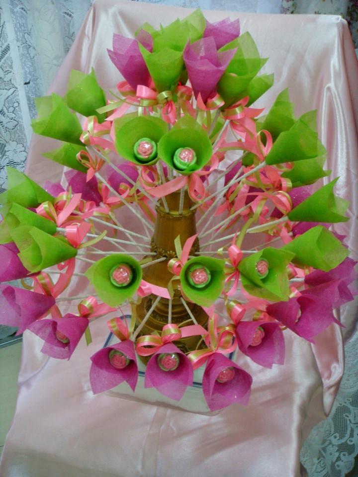 Bunga Pahar Coklat