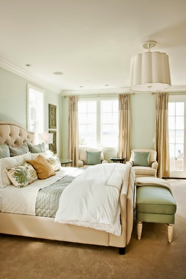 Dise os de dormitorios relajantes dormitorios colores y for Dormitorios verde agua