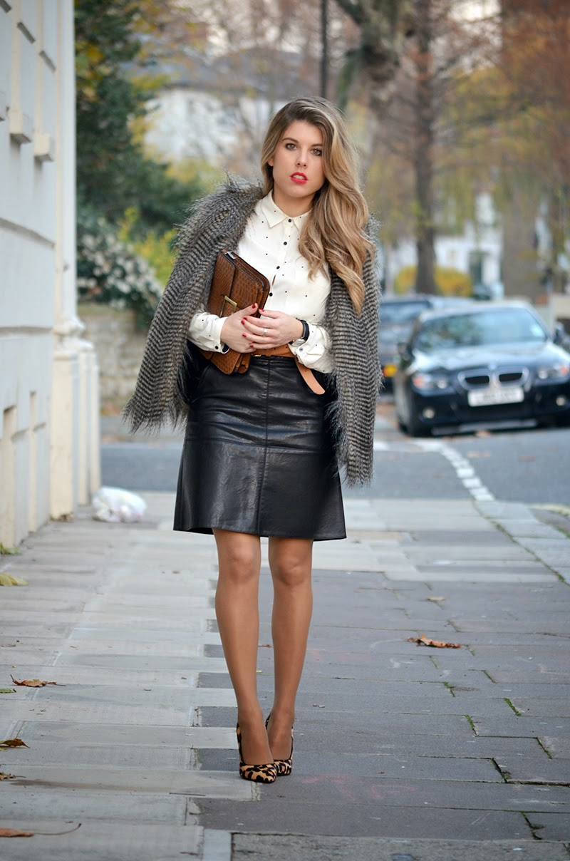 Leather Skirt Instagram | Jill Dress