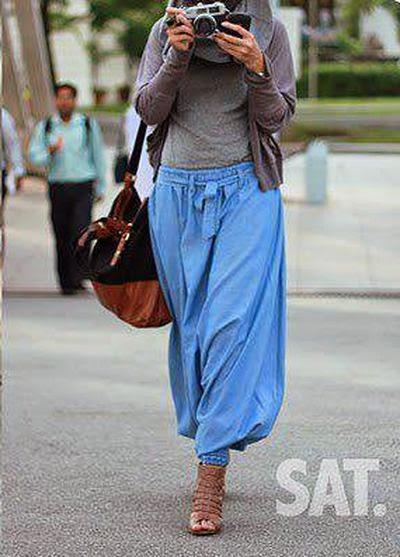 Style hijab avec serwal