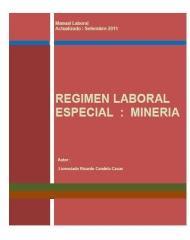 Régimen Laboral Minero