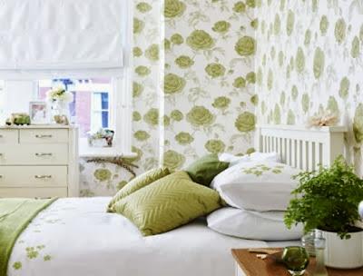 wallpaper dinding kamar tidur gambar rumah idaman