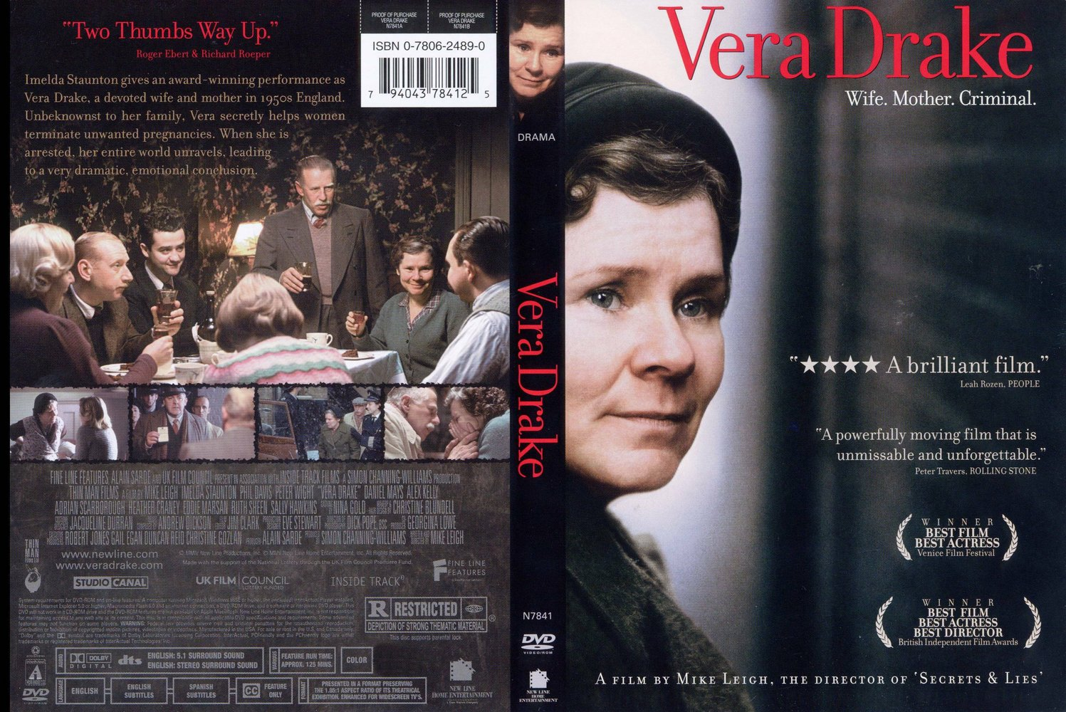 Vagebond's Movie ScreenShots: Vera Drake (2004) part 11497 x 1000
